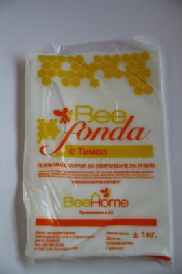 Храна за пчели BEE FONDA с тимол ( Ново над 300 кг безплатна доставка)